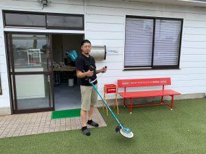 業務用の草刈機を購入しました!
